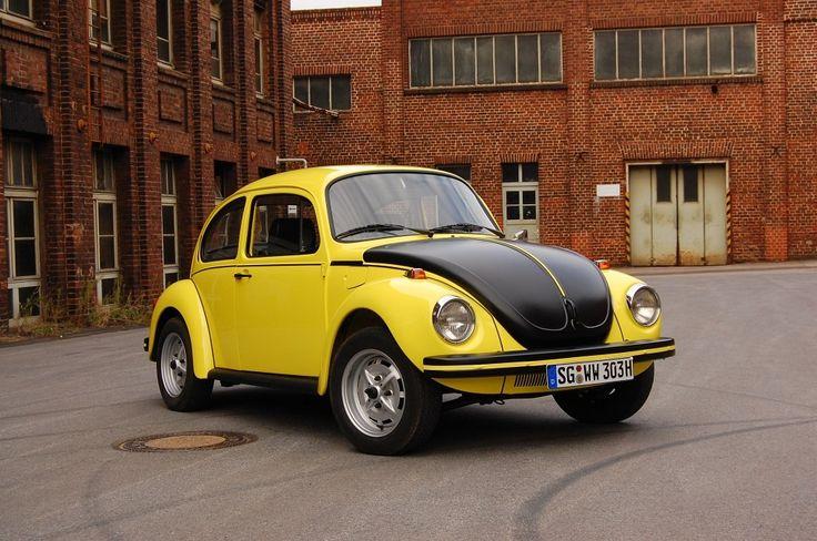 1973 volkswagen k fer 1303 s gsr gelb schwarzer renner or. Black Bedroom Furniture Sets. Home Design Ideas