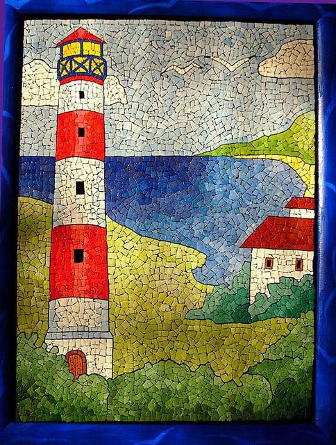 Mosaico con i gusci d'uovo | Flickr: Intercambio de fotos