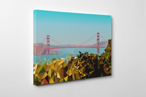 San Francisco – Low Polly Art