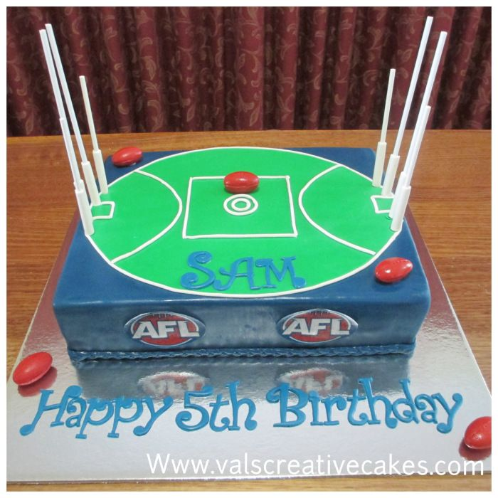 cake for an AFL lover