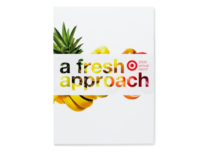 A cool annual report for Target designed by VSA Partners in Chicago... dynamite!