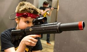 Groupon - 1.5 Hours of Laser-Tag for Two, Four, or Eight at CMP Tactical Lazer Tag Des Moines (Up to 55% Off)  in CMP Tactical Lazer Tag Des Moines. Groupon deal price: $29