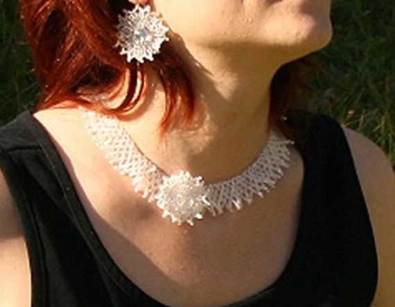 white necklace wedding collar wedding necklace beaded