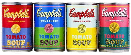 Pop art-style Andy Warhol Campbell's Soup Cans finally head to UK supermarkets
