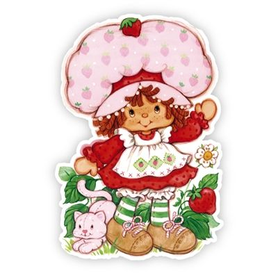 Strawberry Shortcake and Custard wall graphic now available from ...