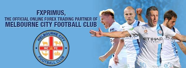 FXPRIMUS is now a proud Official Online Forex Trading Partner of Melbourne City Football Club! FXPRIMUS announces exciting new partnership with Melbourne City Football Club. A club whose motto 'The Heart of the City' resonates with us as we too put our clients at the heart of our business decisions. Read on here for more information- http://budurl.me/33tl