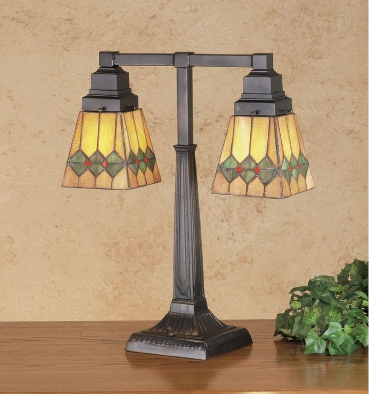 Meyda Tiffany 48205 Stained Glass / Tiffany Table Lamp from the Martini Mission Tiffany Glass Lamps Table Lamps Table Lamps