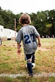 U 6 soccer drills for kids - boy practicing