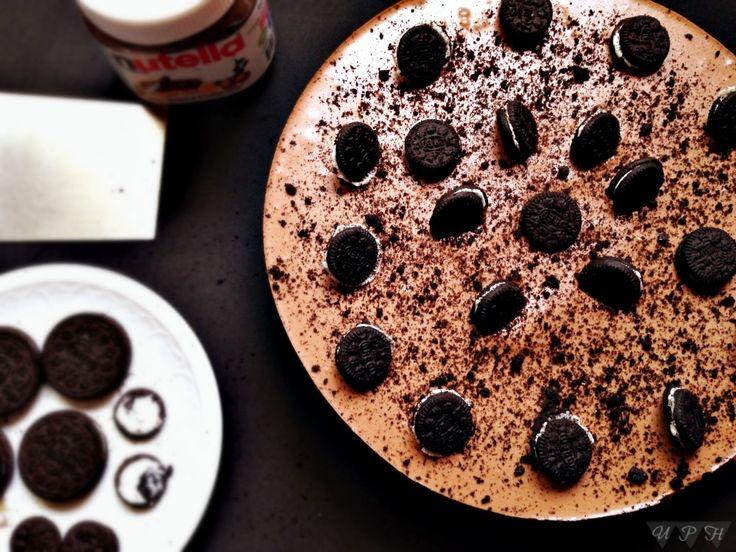Tarta Oreo Nutella Queso