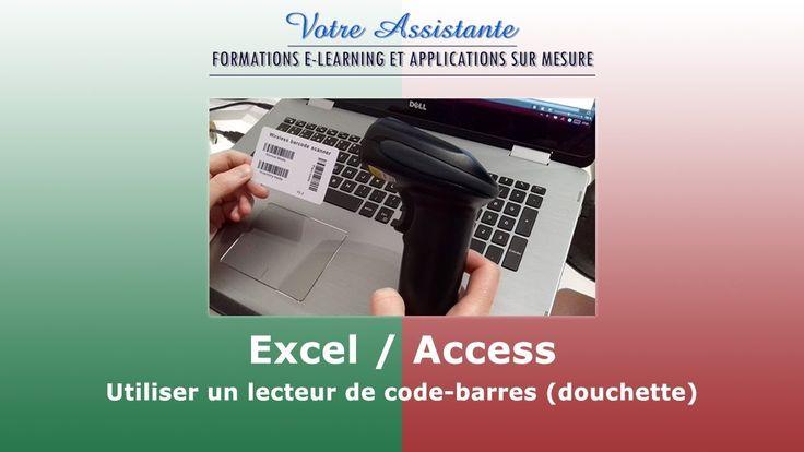 Tutoriel vidéo pour apprendre à utiliser un lecteur de code-barres (douchette) en mode normal et en mode inventaire sur Excel et Access. Pour accéder à la version texte de ce tutoriel, rendez-vous sur Votre Assistante : https://www.votreassistante.net/utiliser-lecteur-code-barres-douchette-excel-access/