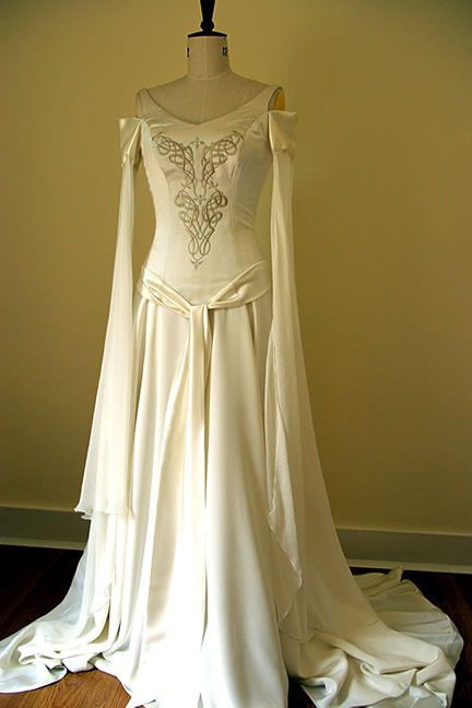 wedding dress medieval