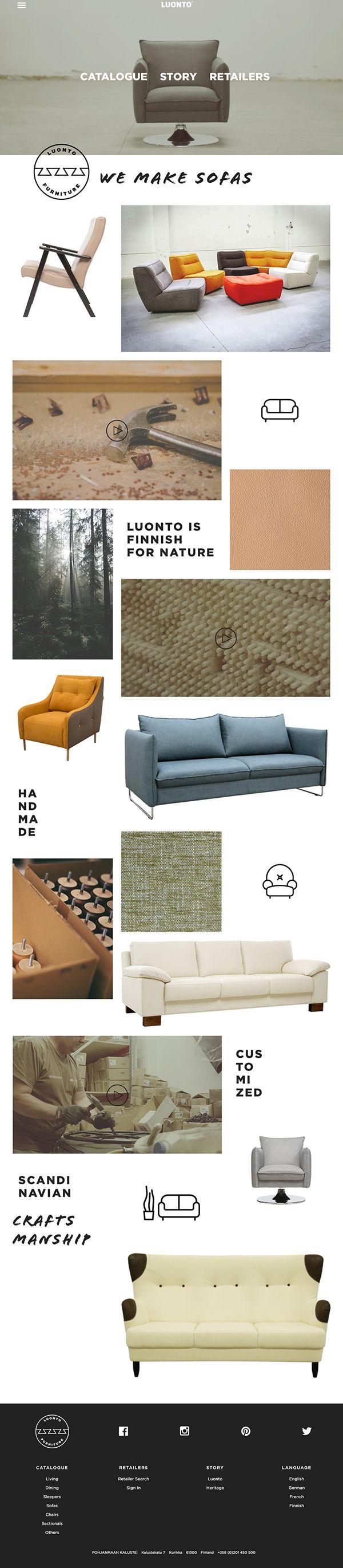 @ Motley Agency. Luonto Furniture on Behance