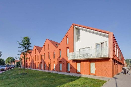 Gallery Of Court Housing Cortinghborg Groningen Architecten En En 1 Architecture House Architecture House