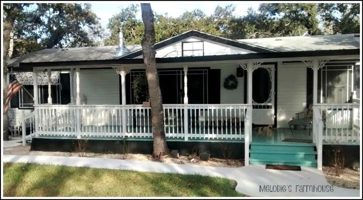 1000 ideas about mobile home exteriors on pinterest for Farmhouse double wide