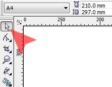 Aby za pomocą skrótu klawiszowego wybrać w CorelDRAW narzędzie Wskaźnik [...]