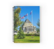The Shrine of Remembrance - Melbourne, Victoria Spiral Notebook