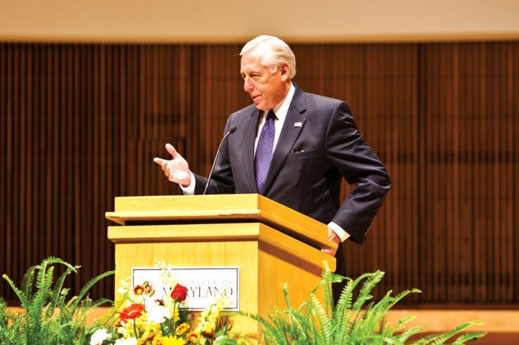 Steny Hoyer talks Greek life - The Diamondback