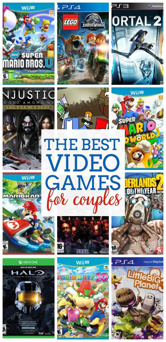The Best Video Games for Couples - We love game nights in our house but we have different skill levels. Here are suggestions for great games to play as a couple on game night! |The Love Nerds