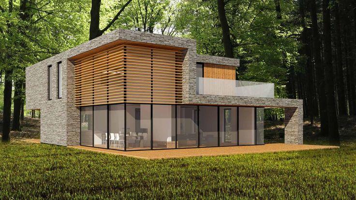 25 beste idee n over huis exterieur kleuren op pinterest exterieur kleuren en huis buitenkant - Exterieur ingang eigentijds huis ...