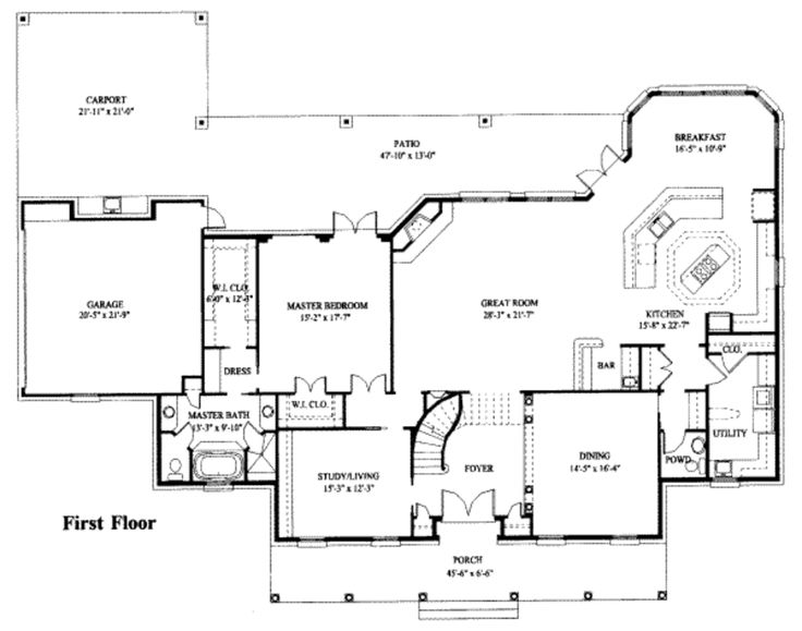55 Best Images About House Plans On Pinterest Luxury