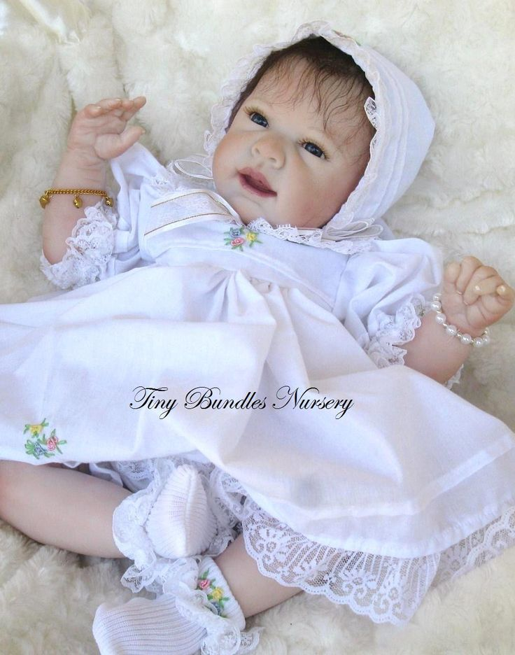 Ginger by Michelle Fagan reborn by Tiny Bundles Nursery