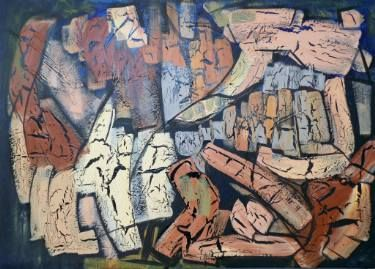 "Saatchi Art Artist Areti Ampi; Painting, ""Parallel universe"" #art"
