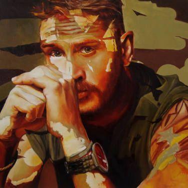 "Saatchi Art Artist Corne Eksteen; Painting, ""The Theorist"" #art"