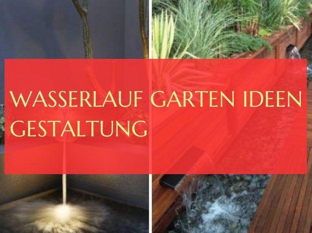 watercourse garden ideas design & #watercourse #garden #Ideen #design 10.0 …