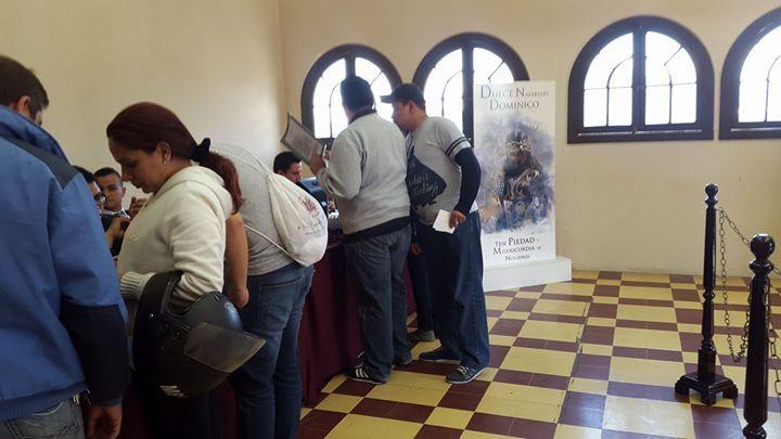 INSCRIPCIONES JESÚS NAZARENO DE LA BUENA MUERTE - SANTO DOMINGO