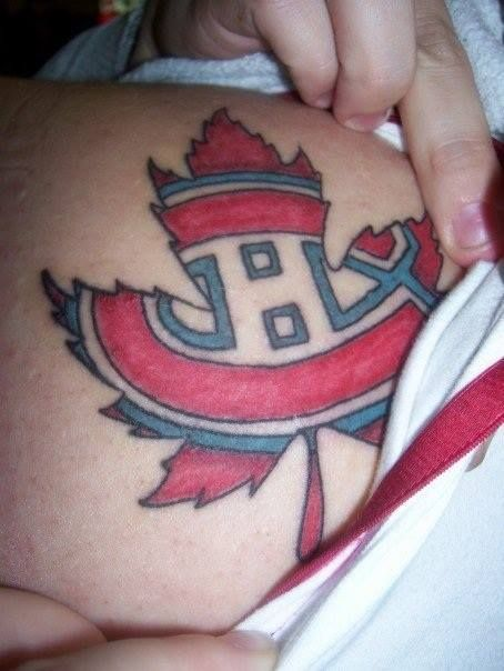 Soumis par / Submitted by Celine Cybill Peron (Facebook) #GoHabsGo #IsItOctoberYet?