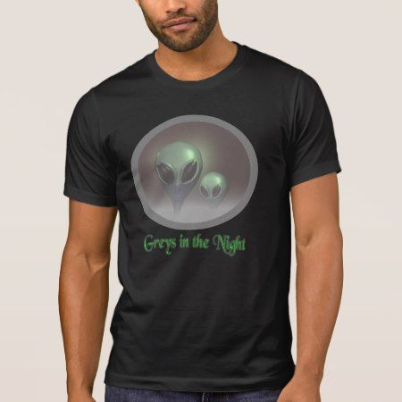 Alien Greys T-Shirt - tap, personalize, buy right now!