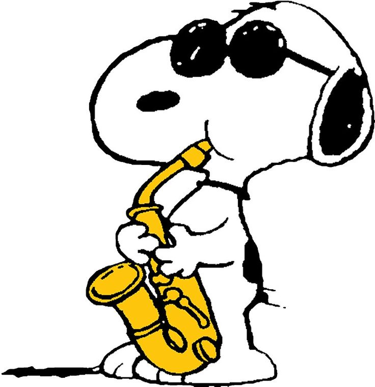 Snoopy Part II All That JaZZ >8))))) Snoopy Plays Sax By