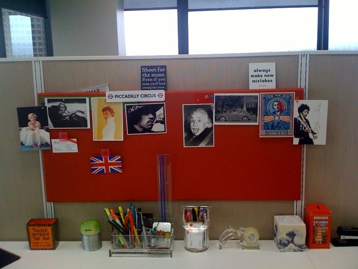 The unique office cubicle decoration in every moment Cubicle bulletin board ideas