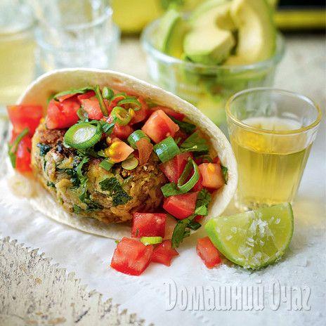 Мексиканский бургер из нута | Рецепты Вкусно и Полезно