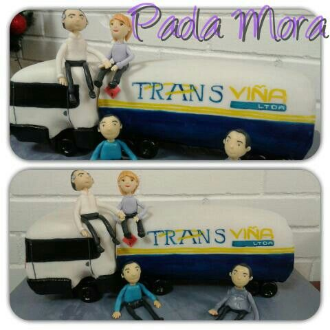 Pastel camion