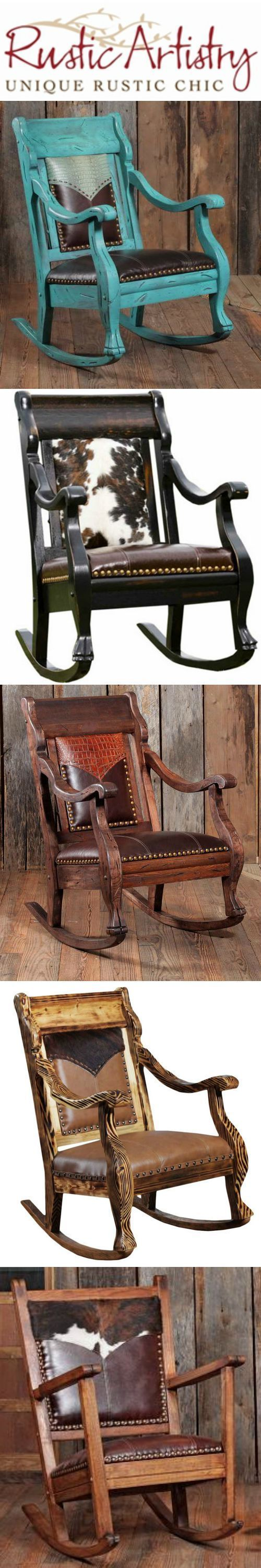 Rockers perfect for the rustic living at the cabin http://rusticartistry.com/product-category/room/rustic-living-room-dining-room-furniture/rockers/