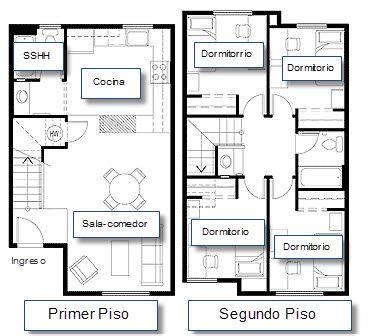 M s de 25 ideas incre bles sobre planos de casas for Modelos planos de casas para construir