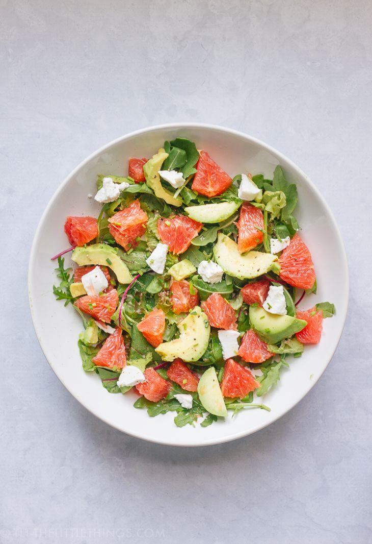 TLT - The Little Things | Grapefruit and Avocado Salad | http://tlt-thelittlethings.com