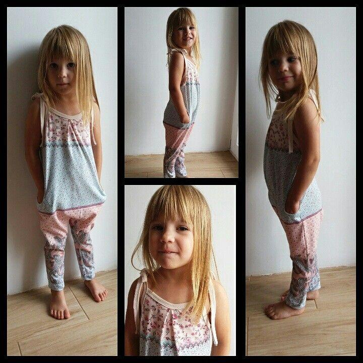 Summer girl overall