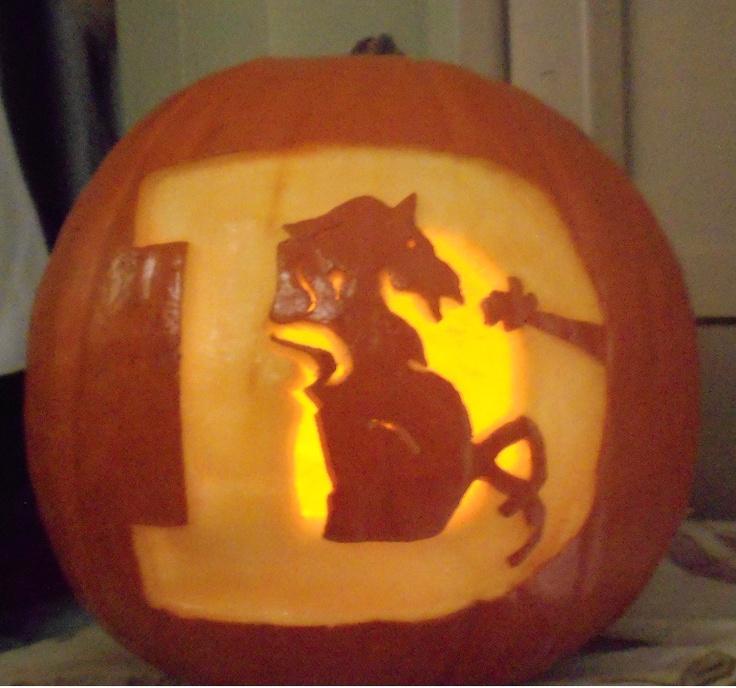 My denver broncos pumpkin sports teams pinterest