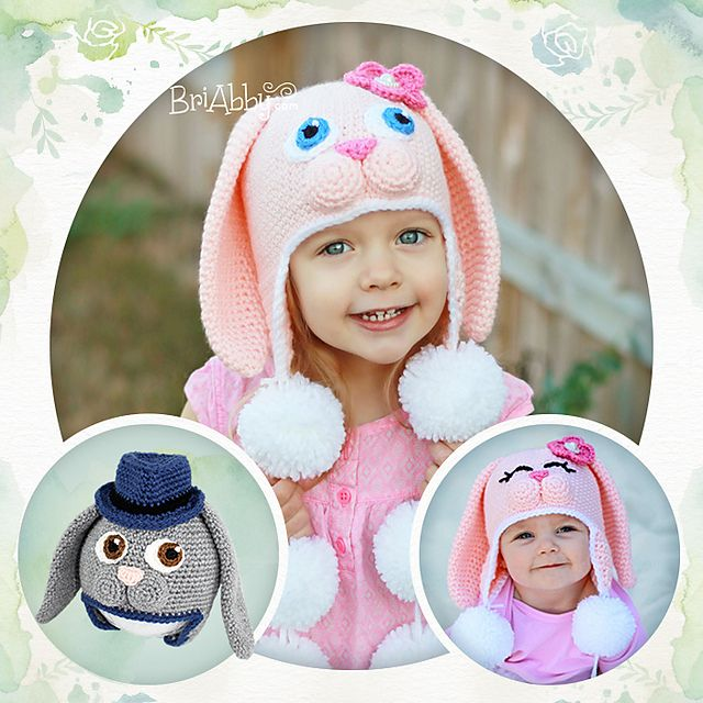 1000+ ideas about Bunny Hat on Pinterest Crocheting ...
