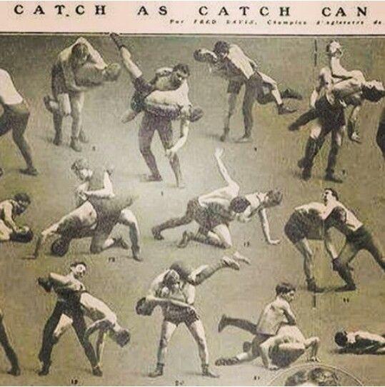 Catch Wrestling Instuctional Photos.