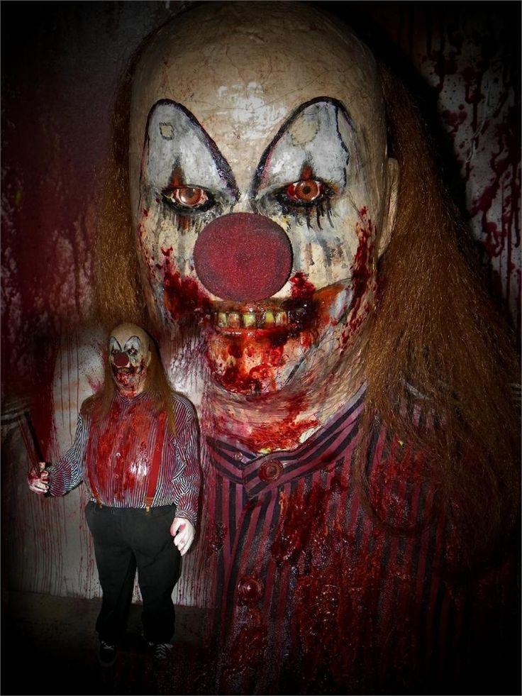 ebdeb56393b82d55059edd55fae6f028 clown faces creepy clown