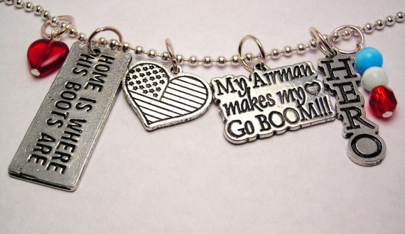 Love my Airman Necklace Military Necklace by CorsoStudio on Etsy, $16.00
