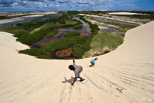 Sand Board em Tatajuba
