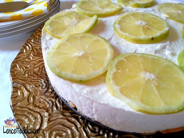 torta mousse al limone, le ricette del cuore, dolce, torta, semifreddo al limone, ricetta facile, ottimo come dessert , ricetta