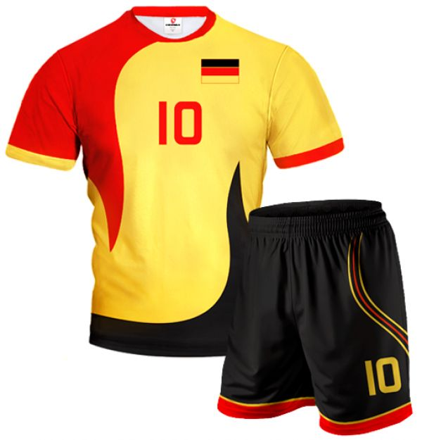 ACTIVE Germany Volleyball Kit With Custom Name And Number