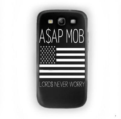 Asap Rocky Gold Vsvp Jet Trills For Samsung Galaxy S3 Case