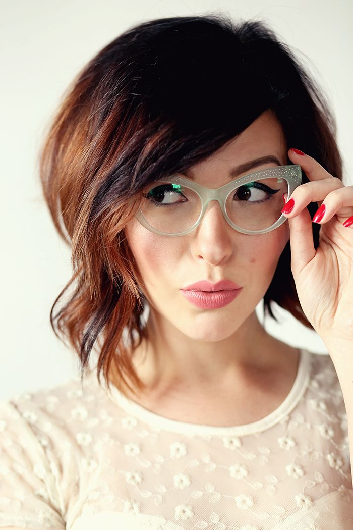 Admirable 25 Best Ideas About Bangs And Glasses On Pinterest Nerd Glasses Hairstyle Inspiration Daily Dogsangcom