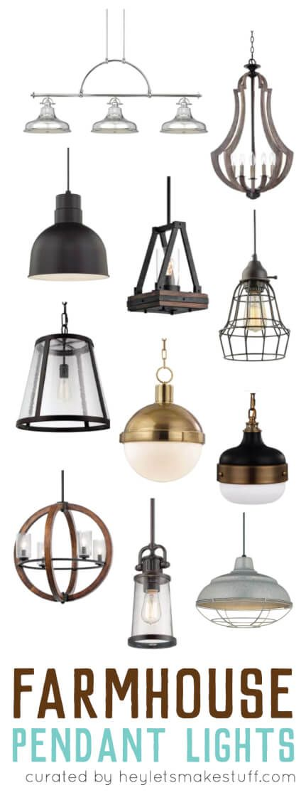 Choosing farmhouse pendant lighting for your kitchen can be a daunting tasks. With so many styles, finishes, and uses, how do you know which one will work best for you? Here are my top ways to choose the perfect pendant.